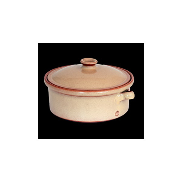 Cocotte 28 cm beige graupera for Art and cuisine cocotte