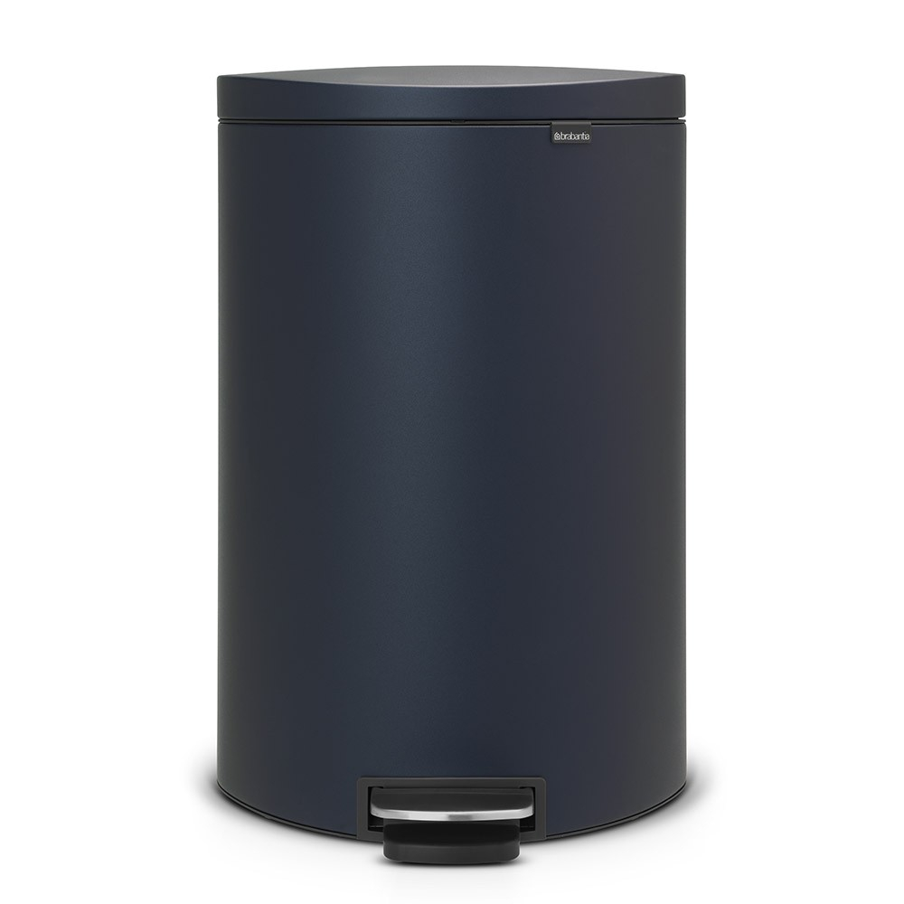 poubelle flatback 40 litres bleu brabantia. Black Bedroom Furniture Sets. Home Design Ideas