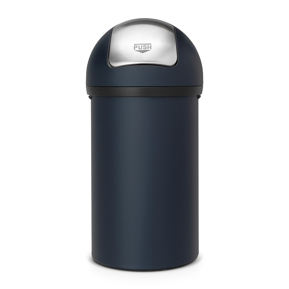 poubelle push bin 60 litres push bin bleu brabantia. Black Bedroom Furniture Sets. Home Design Ideas