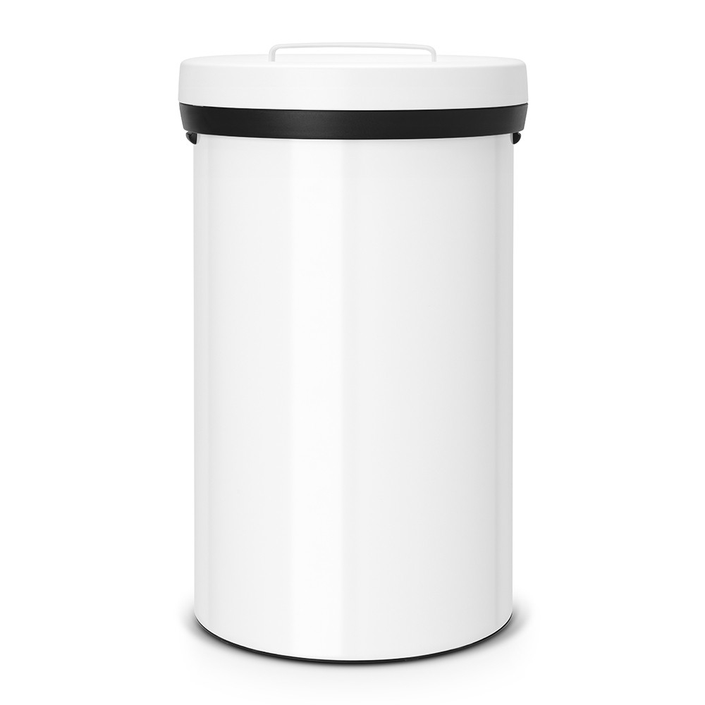 poubelle big bin 60 litres blanc brabantia. Black Bedroom Furniture Sets. Home Design Ideas