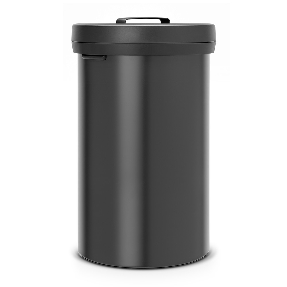 poubelle big bin 60 litres matt black brabantia. Black Bedroom Furniture Sets. Home Design Ideas