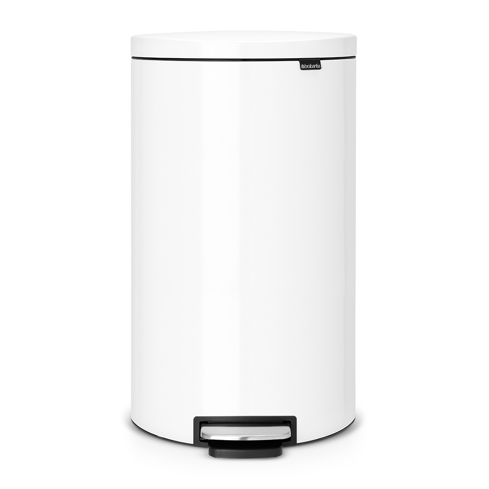 poubelle flatback 30 litres blanc brabantia. Black Bedroom Furniture Sets. Home Design Ideas