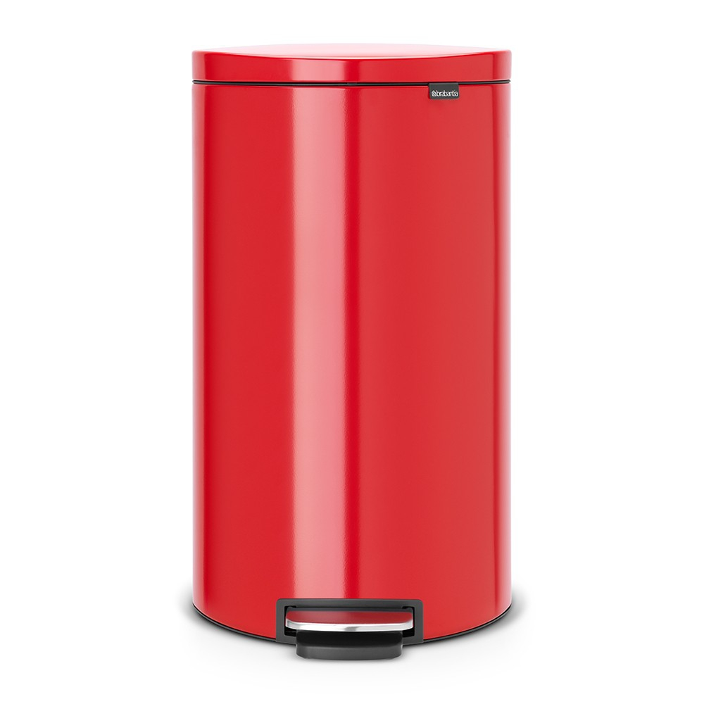 poubelle flatback 30 litres rouge brabantia. Black Bedroom Furniture Sets. Home Design Ideas