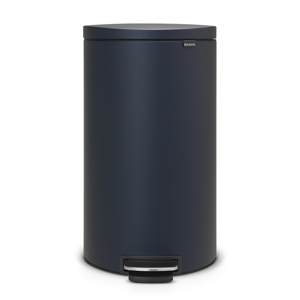 poubelle flatback 30 litres bleu brabantia. Black Bedroom Furniture Sets. Home Design Ideas