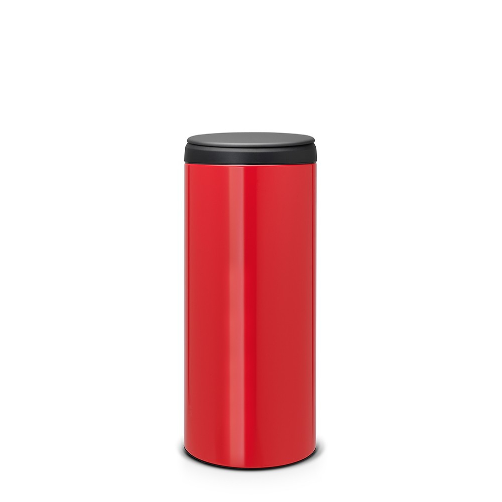 poubelle flipbin 30 litres rouge brabantia. Black Bedroom Furniture Sets. Home Design Ideas