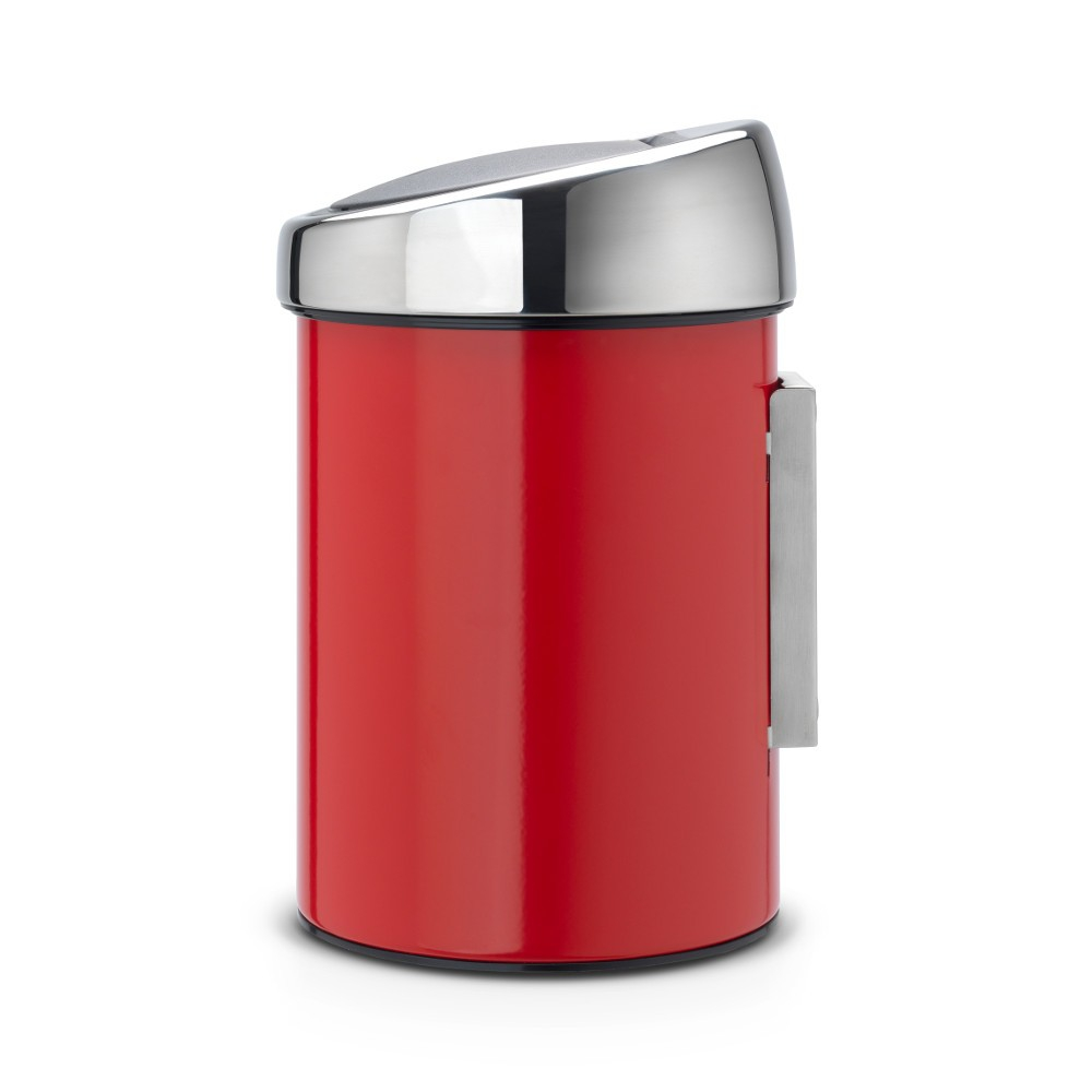 poubelle touch bin 3 litres touch bin rouge brabantia. Black Bedroom Furniture Sets. Home Design Ideas