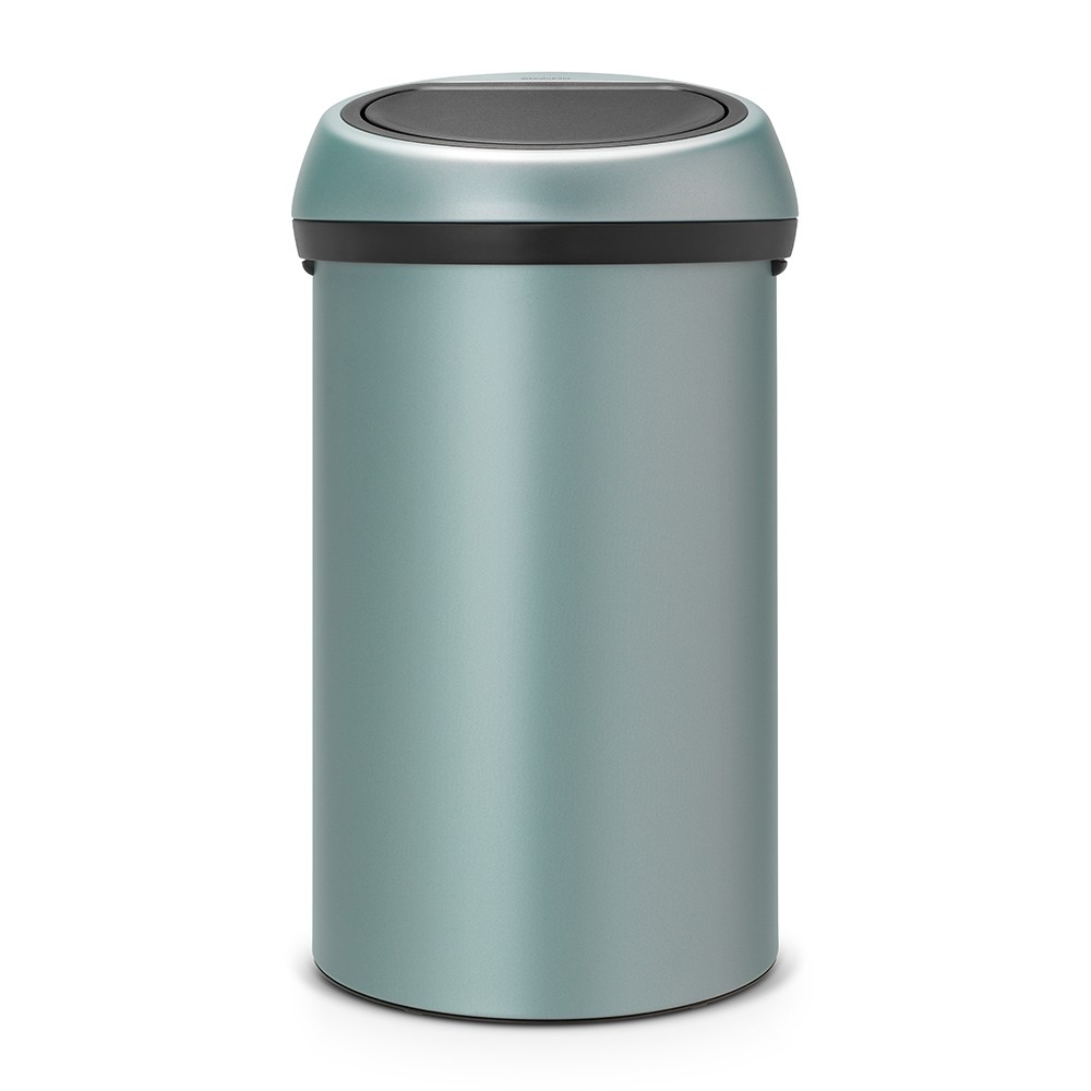 poubelle touch bin 60 litres touch bin mint brabantia. Black Bedroom Furniture Sets. Home Design Ideas