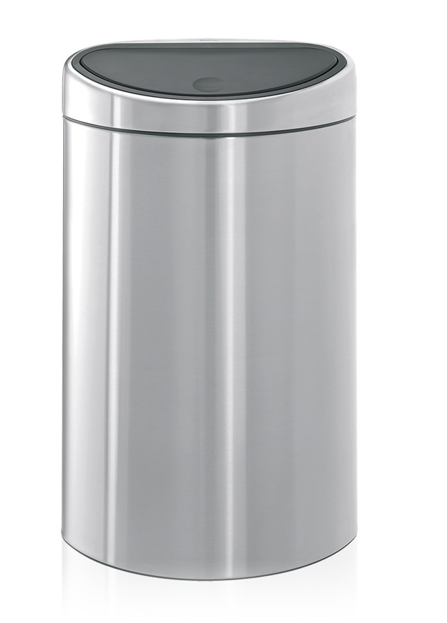 Poubelle Touch Bin recycle 10 + 23 litres