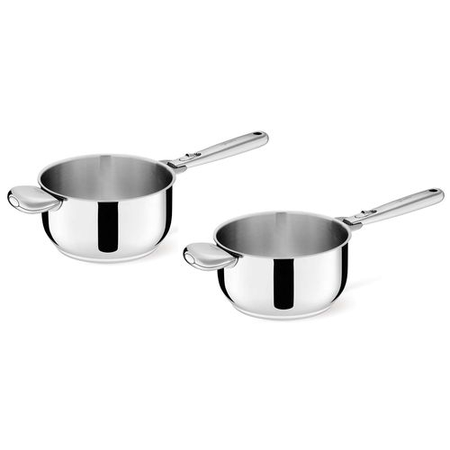 Lot de 2 casseroles 'salvaspazio 2'