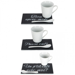 Lot de 3 Sets café gourmand