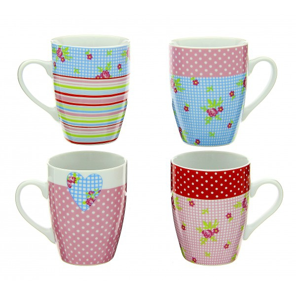 Set de 4 mugs Liberty - TABLE AND COOK