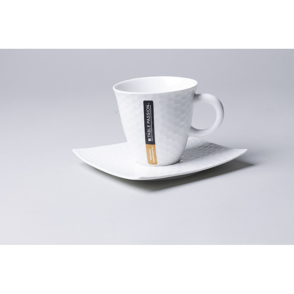 Paire tasse à café - TABLE PASSION - 10 cl