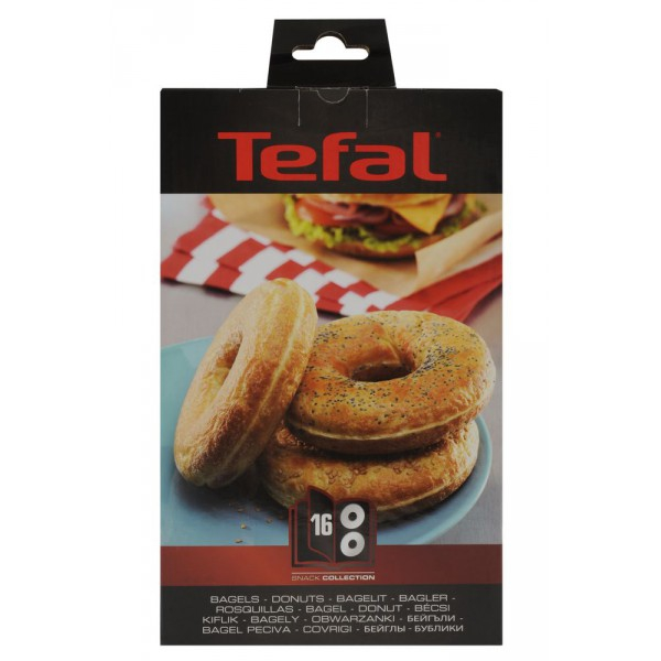coffret plaques bagels snack collection tefal. Black Bedroom Furniture Sets. Home Design Ideas