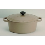 Cocotte ovale  - INVICTA - 3 litres - ROUGE