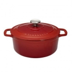 Cocotte ronde  - TABLE AND COOK - 28 cm - ROUGE
