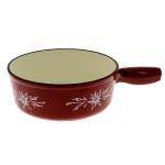 Poêlon Edelweiss  - TABLE AND COOK - 24 cm - ROUGE