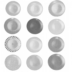 Lot de 12 assiettes plates Kiyosé