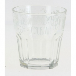 Lot de 6 Chopes forme basse Apéritif