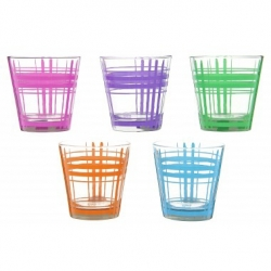 Lot de 6 verres de table