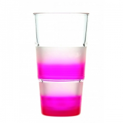 Lot de 6 verres Shock fluo