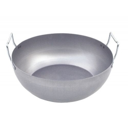 Bassine à friture bombée
