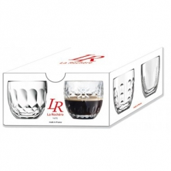 Set 4 tasses a expresso Troquet