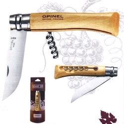Couteau n°10 vri + tire-bouchon OPINEL