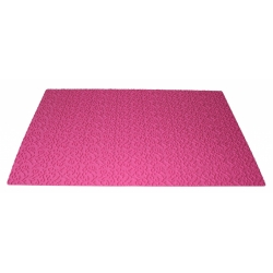 Tapis relief arabesque