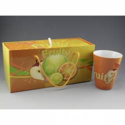 Coffret 2 mugs fruity