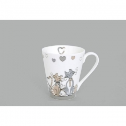 Lot de 4 mugs Kidcat