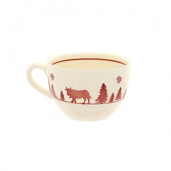 Lot de 4 tasses jumbo vache