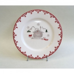 Lot de 6 assiettes plates Aravis