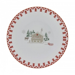 Lot de 6 assiettes plates Les Confins