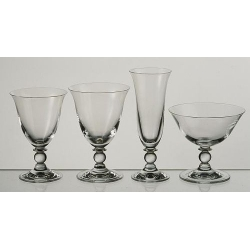 Lot de 6 verres à pied Piano