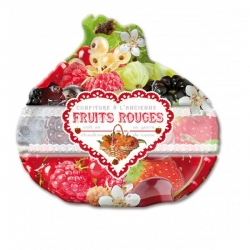Plateau forme fruits rouges