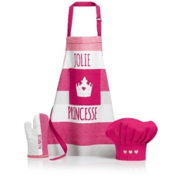 Set Tablier enfant Jolie Princesse