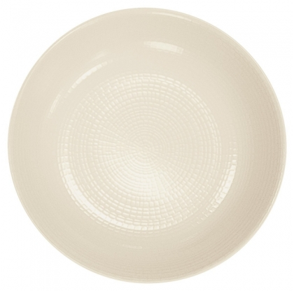 Assiette creuse ronde - GUY DEGRENNE - KAOLIN