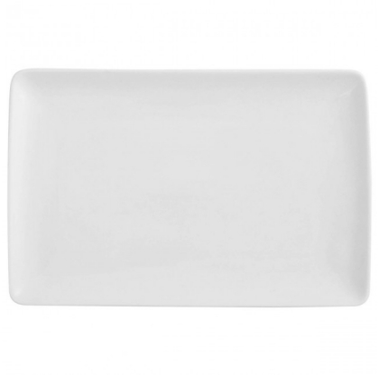 Plat rectangulaire MODULO BLANC - GUY DEGRENNE