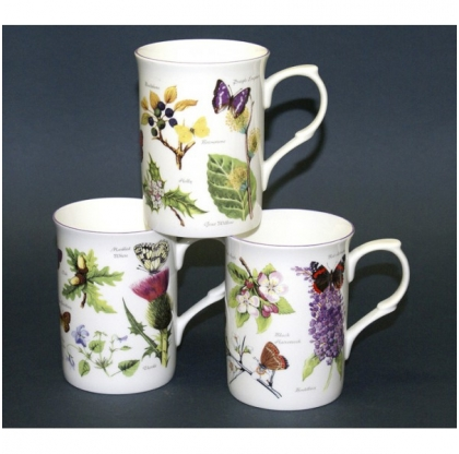 Lot de 6 mugs Buxton Natures Woodland - JUST MUGS