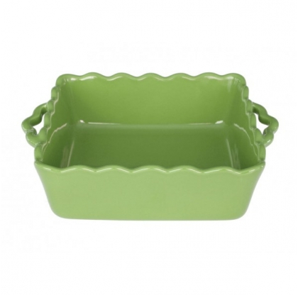 Plat carré - TABLE AND COOK - 31 cm - VERT