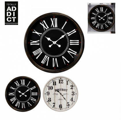 Horloge 50 cm Bistrot - TOTALLY ADDICT